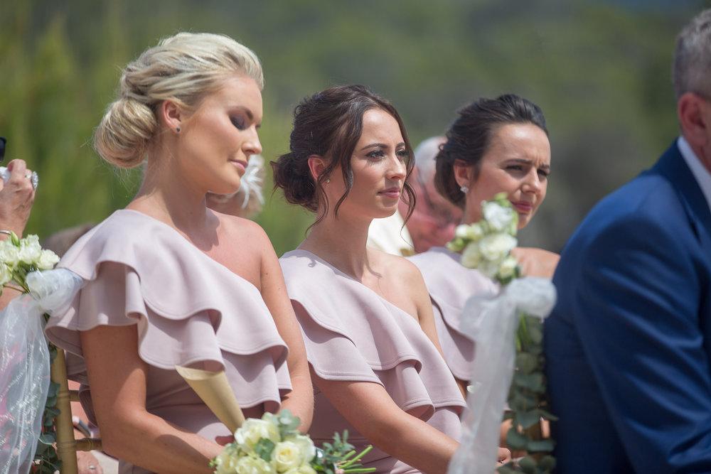 Wedding guests at Elixir Shore Club, Ibiza. Photo by Matt Morgan.
