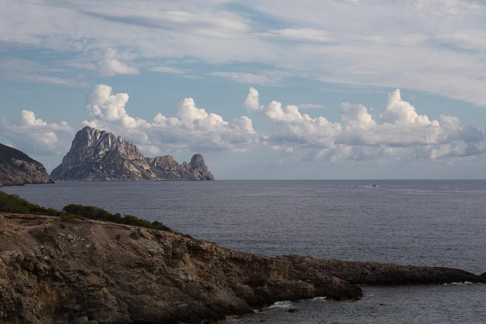 View of Es Vedra from Elixir, Ibiza. Photo by Matt Morgan.