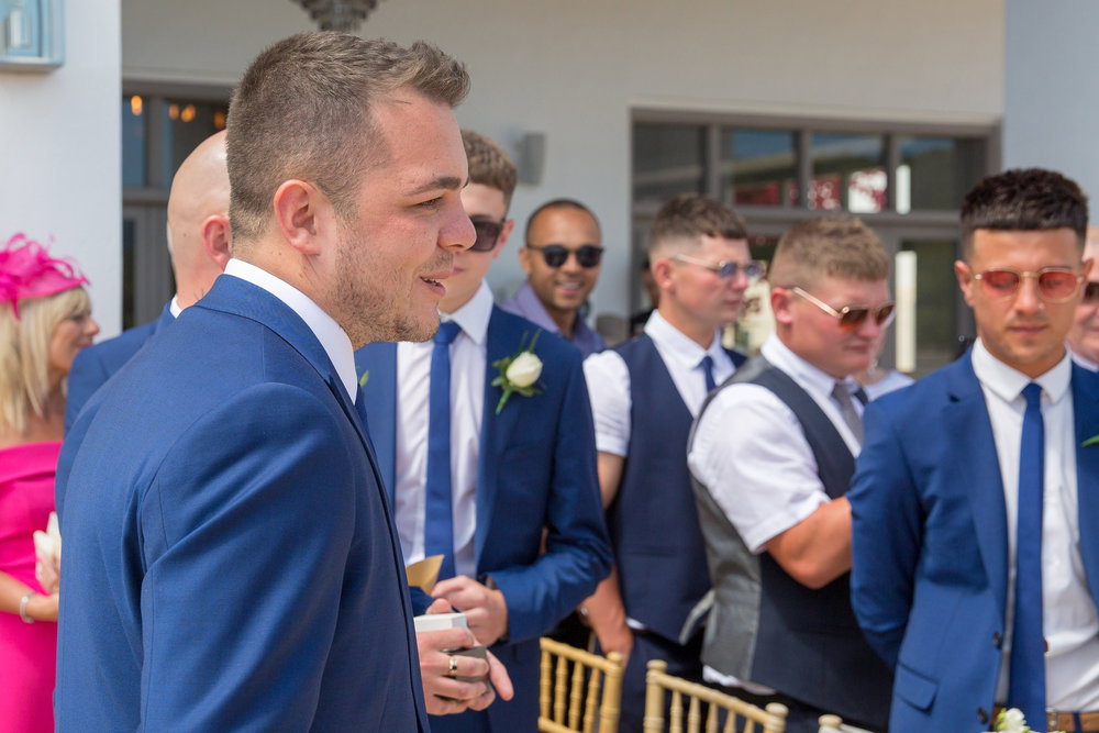 Wedding ceremony at Elixir Ibiza. Photo by Matt Morgan.