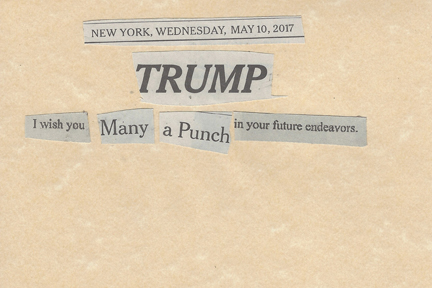 May 10, 2017 Trump I wish you Many a Punch in Your Future Endeavors SMFL.jpg