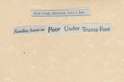July 3, 2017 Familiar Scene As Poor Under Trump FootSMFL .jpg