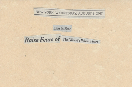 August 2, 2017, Live in Fear Raise Fears of the World's Fears SMFL.jpg