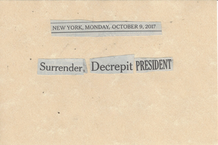 October 9, 2017 Surrender Decrepit President SMFL.jpg