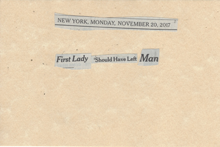 November 20, 2017 First Lady Should HAve Left Man SMFL.jpg