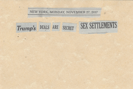November 27, 2017 Trump's Deals are Secret Sex Settlements SMFL.jpg