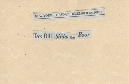 December 19, 2017 Tax Bill Sinks the Poor SMFL .jpg