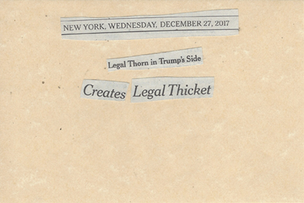 December 27, 2017 Legal Thorn in Trump's Side Creates Legal Thicket SMFL.jpg