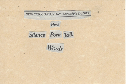 January 13, 2018 Hush Silence Porn Talk Words SMFL.jpg