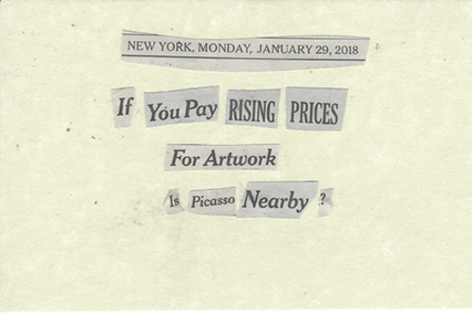 January 29, 2018 IF YOU PAY RISING PRICES For Artwork Is Picasso NEARBY? SMFL.jpg
