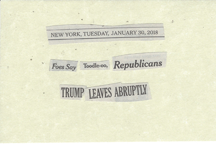 January 30, 2018 Foes Say Toodle-00 Republicans TRUMP LEAVES ABRUPTLY SMFL.jpg