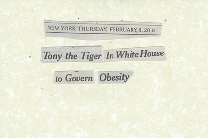 February 8, 2018 Tony the Tiger in White House to Govern Obesity SMFL.jpg