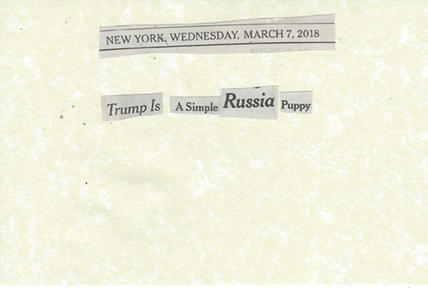 March 7, 2018 Trump is a SImple Russia Puppy SMFL.jpg