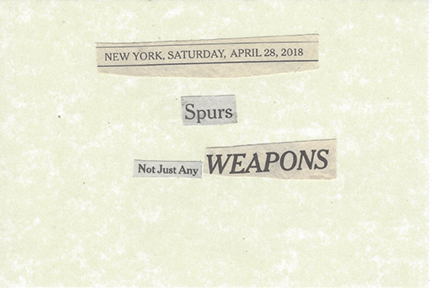 April 28, 2018 Spurs Not Just Any Weapons SMFL.jpg