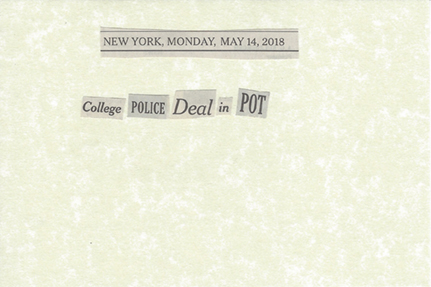 May 14, 2018 College police deal in pot SMFL.jpg