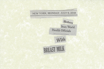 July 9, 2018 Mothers Stun World Health Officials with Breastmilk SML.jpg