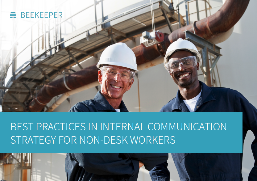 Best Practices in Internal Communication Strategy for Non-Desk Workers