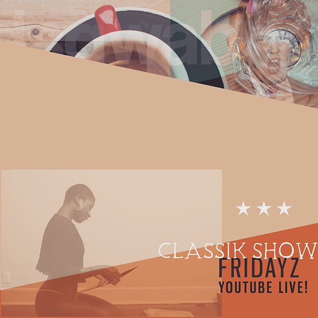 Join me for #classikshow live on Youtube! 12 EST, tune in! #classikworld
