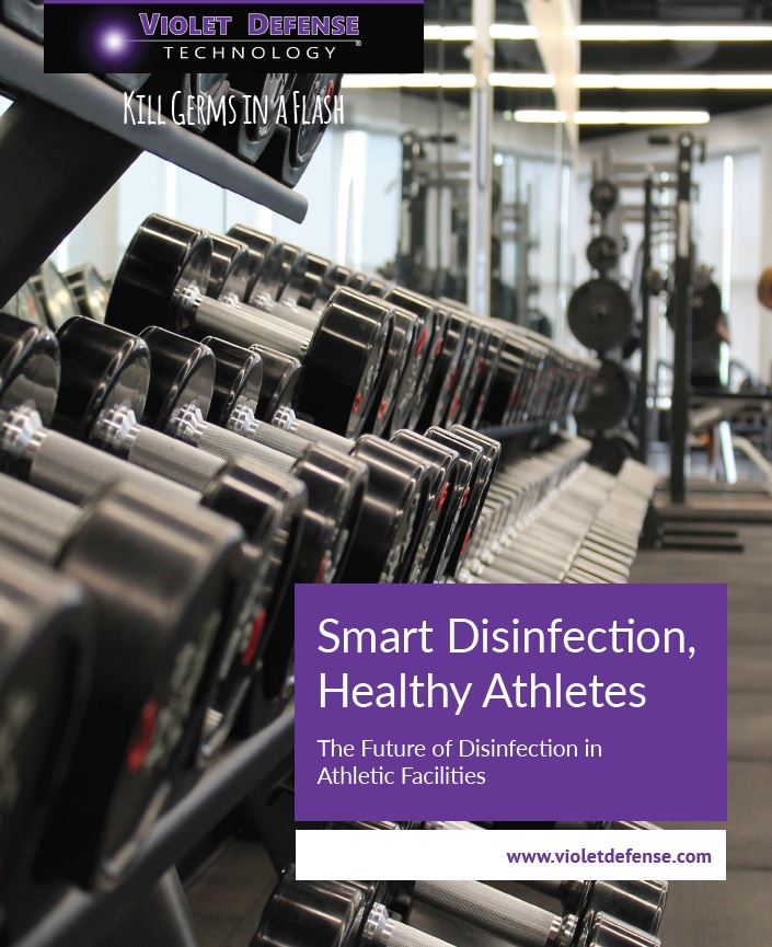 Download our white paper on the future of disinfection for athletic facilities