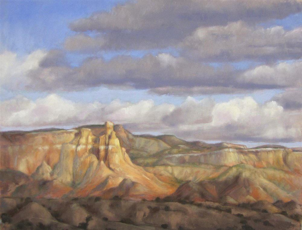 Passing Clouds at Ghost Ranch 20x26.jpg