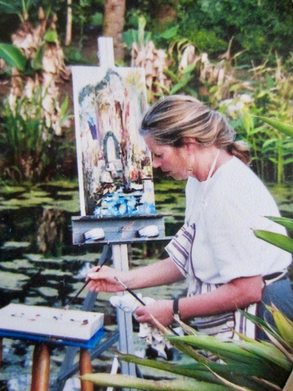 Helen Plein Aire Painting 1998.jpg