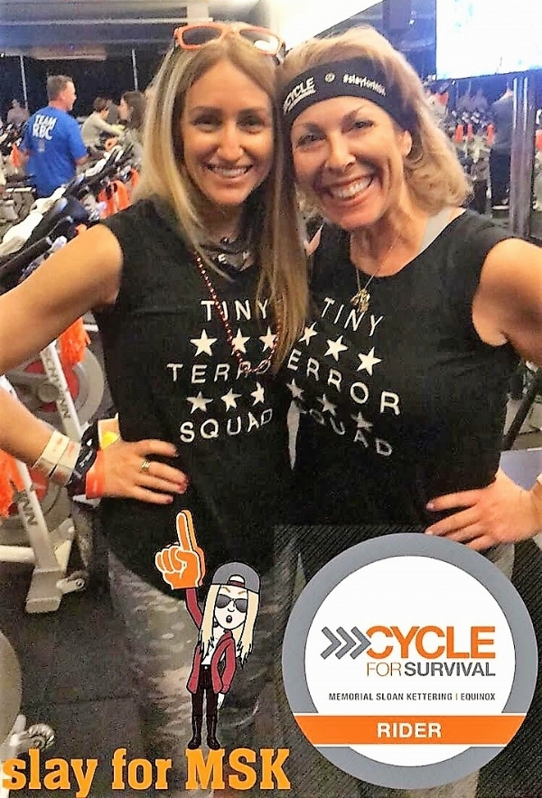Cycle for survival  - Instilling health & well-being to our community one-step at a time. We love that 8 pH water is known as fitness water. Always remember to hydrate during all aerobic and anaerobic exercises.