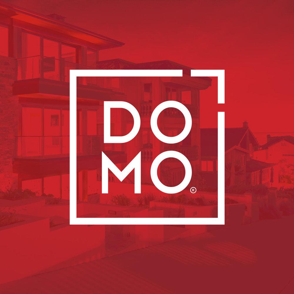 DOMO Logo Overlay
