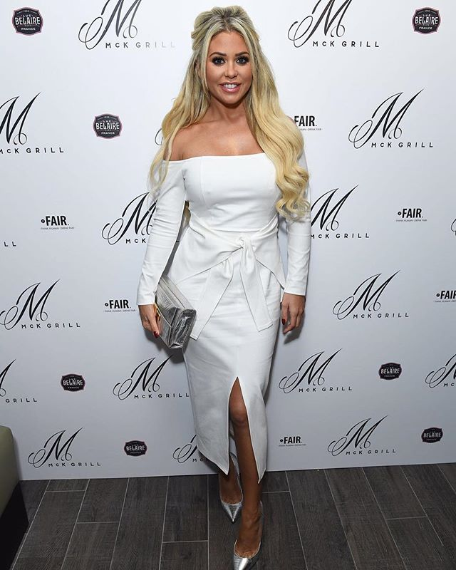 The gorg @biancagascoigne1 at the Mck Launch!