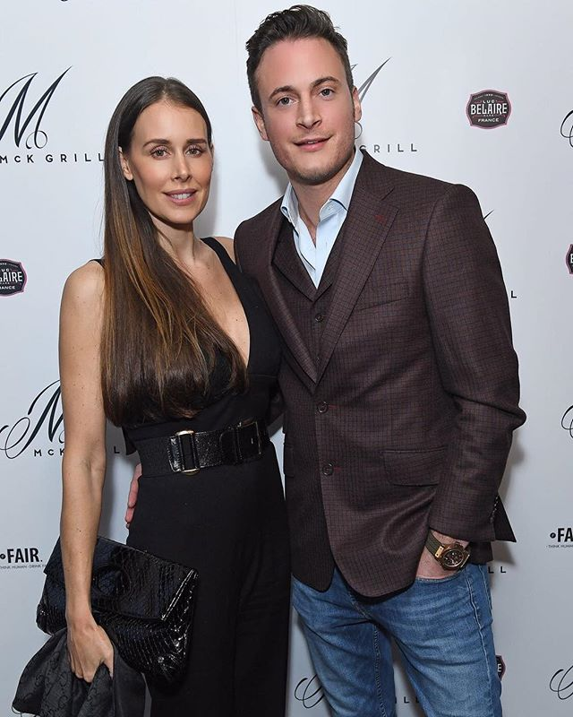 Lovely to have @natashalucyclinics & @gary.lucy at the McK launch night last week!