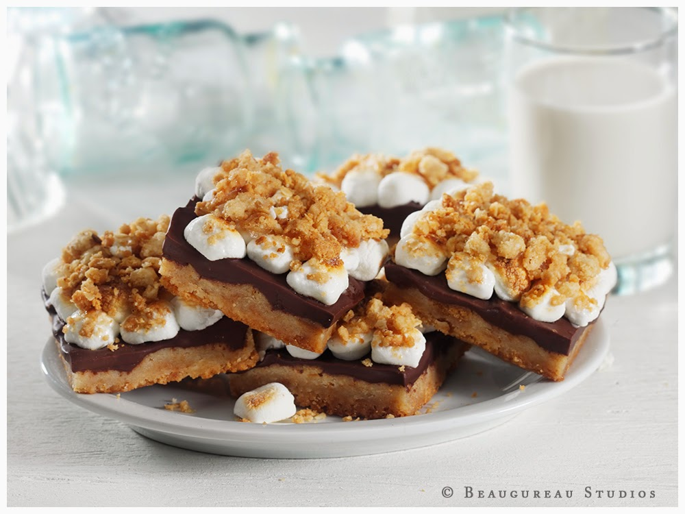 PAN-BAKED S'MORES