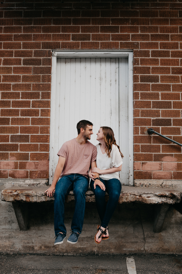 Adventurous Engagement Photos