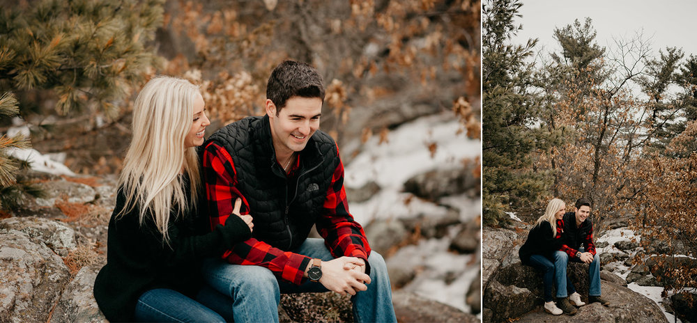 Taylors Falls Engagement Session / Taylors Falls Engagement Photos / Taylors Falls Engagement Pictures
