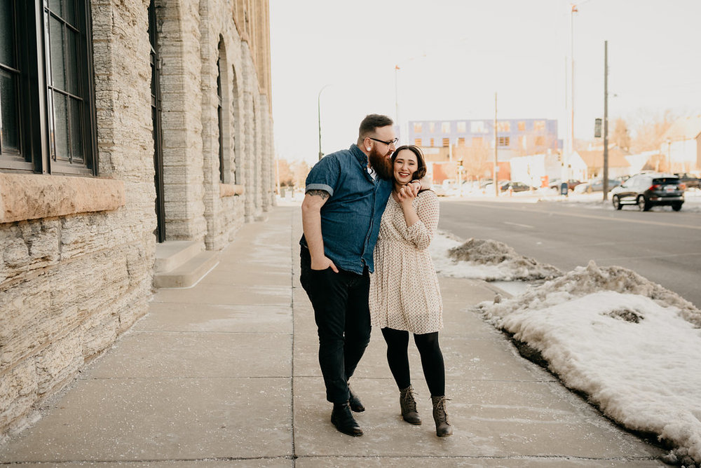 Northeast MPLS engagement photos / Northeast MPLS engagement pictures / Minneapolis engagement photos / MPLS engagement photos / MPLS engagement photographer / Minneapolis engagement photographer