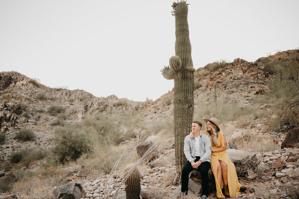 Arizona Engagement / Desert Engagement / Arizona Adventure / Adventure Engagement Session / Outdoor Adventure / Arizona Wedding Photographer / Outdoor Engagement