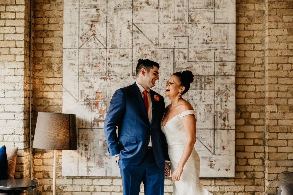 Minneapolis Jewish Wedding Photographer