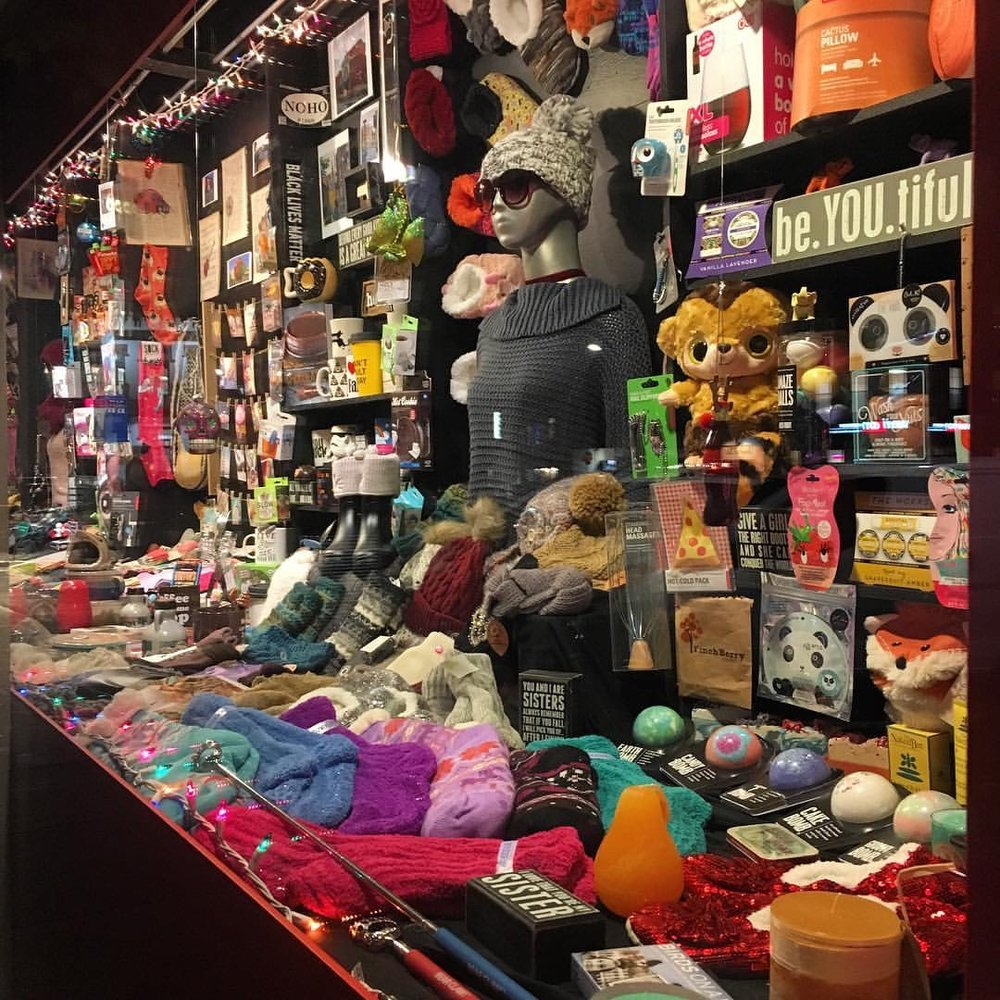 """Stuff"" Window - November 2016"