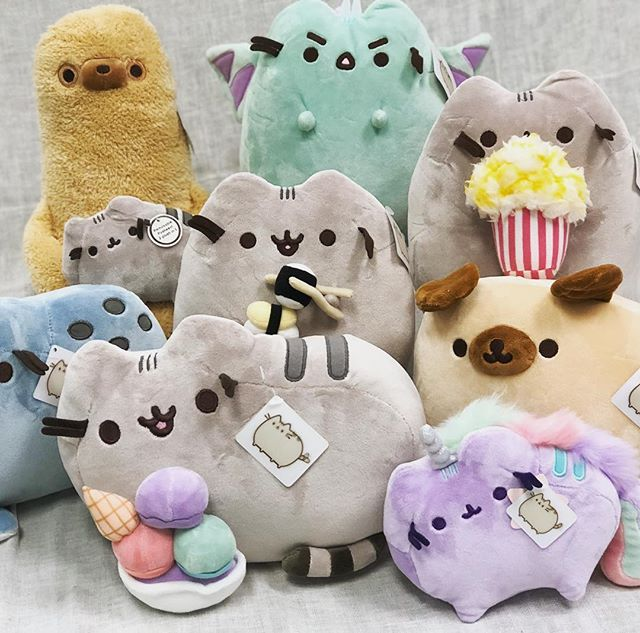 Adorable new additions to one of our favorite plush collections!  #pusheen #pusheenthecat #plush #toys #stuffedanimals #newstuff #facesmainstreet