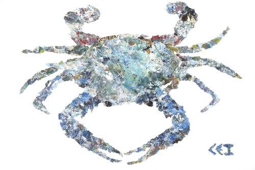 Big Blue with frame