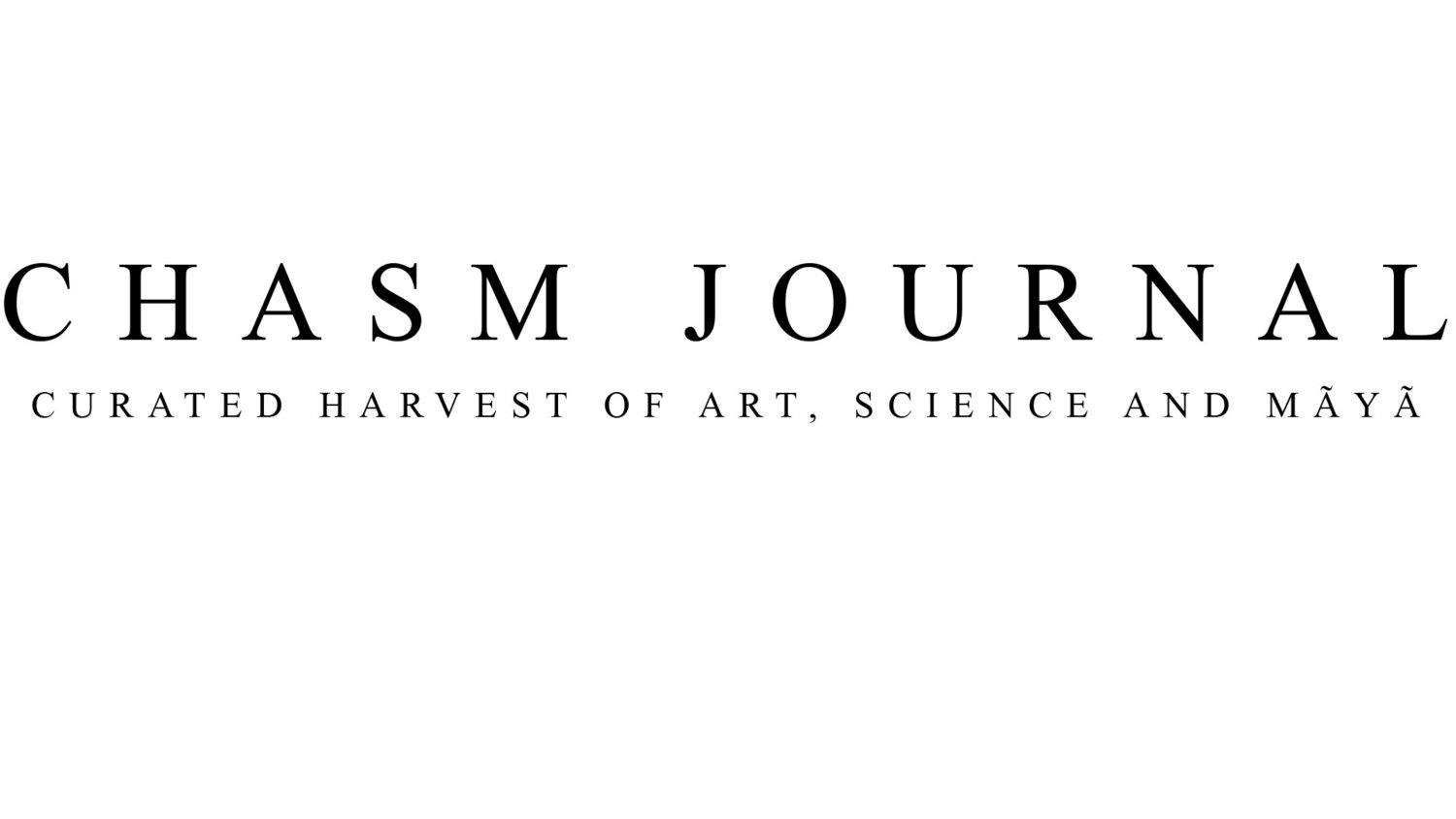 chasm journal