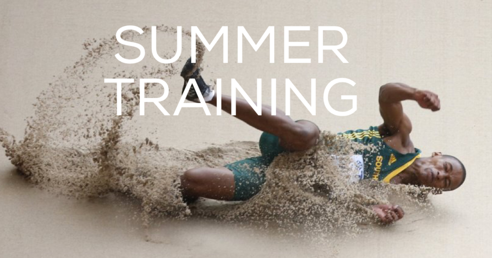 - The staff at Complete Track and Field put together a great article on training over the summer. http://completetrackandfield.com/summer-training-ideas-sprinters-hurdlers-part-ii/