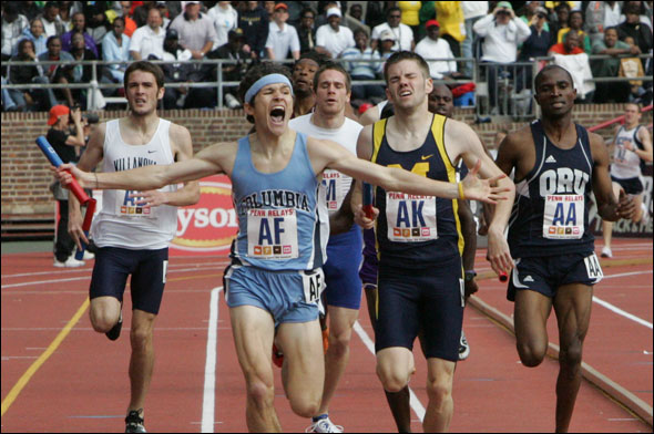 Liam Boylan-Pett - 8 TIME IVY LEAGUE CHAMPIONNCAA NATIONAL QUALIFIERPENN RELAYS CHAMPION - 4 x 800mPR'S - 1:46.6 - 800m / 3:37 - 1500m