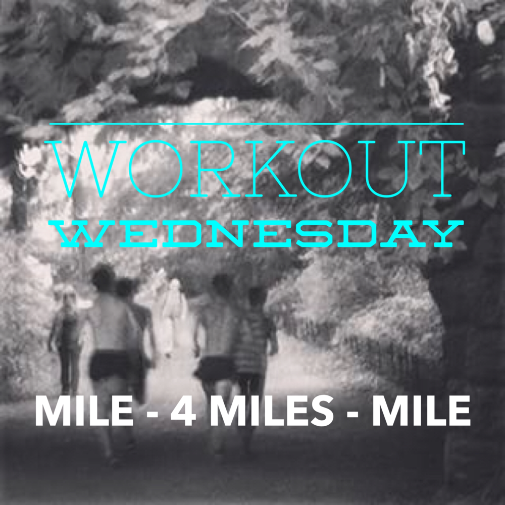 - This is a workout we did exactly one week after our surprise win at the Norte Dame Invitational in 2013. On Tuesday of this week, the guys ran 15 miles with the middle 10 at 5:30 pace. On Friday we did a MILE in 4:35 - jog 3 minutes - 4 miles at 5:10 pace - jog 3 minutes - MILE in 4:25. This was done 6 weeks prior to the NCAA NATIONAL CHAMPIONSHIPS.