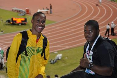 Leighton Spencer  - 3 x Jamaican National Champion8:06 - 3000m, 14:14 - 5000m, 30:09 - 10k