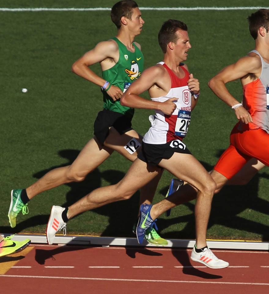 Dan Gagne - 3:43 - 1500m, 14:10 - 5000m