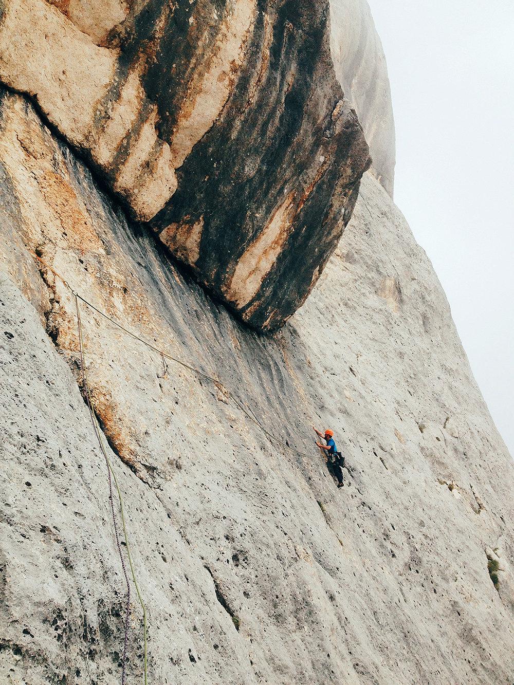 Simone Enei - Climbing 7