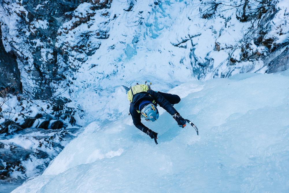 Simone Enei - Ice Climbing 1