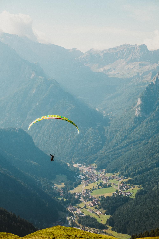 Simone Enei - Paragliding 1