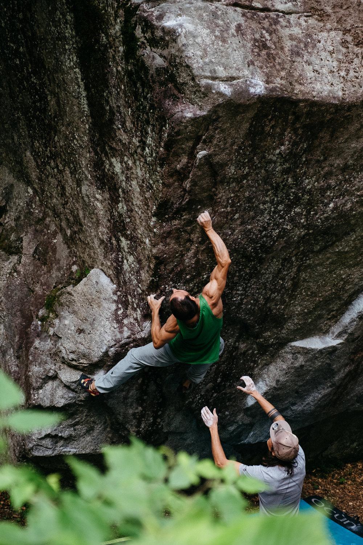 Simone Enei - Climbing 12
