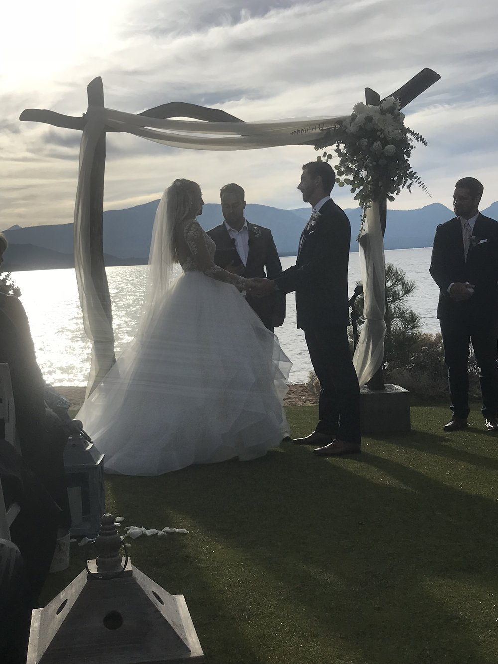 How dreamy is this ceremony site? It was truly magical.