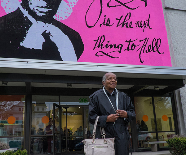 Harriet Tubman's great grand niece, Pauline Copes