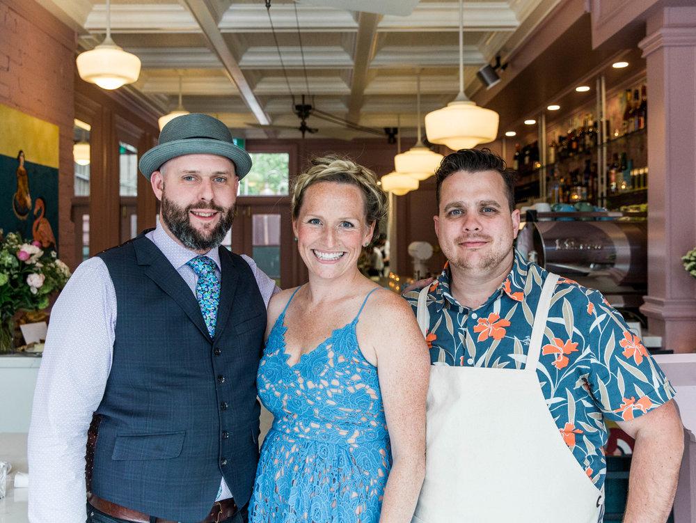BRENDAN, NIKKI & VICTOR | CAFÉ CANCAN